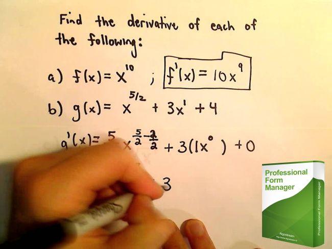 Professional Form Manager Dimostrazione Funzione Calculate