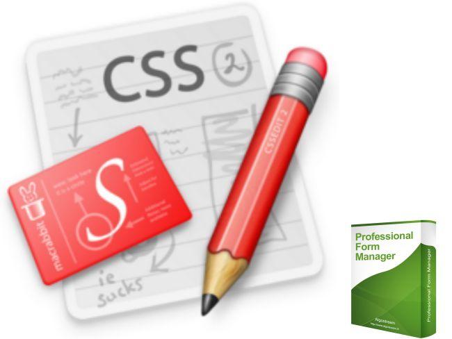 Professional Form Manager Dimostrazione Personalizzazioni CSS