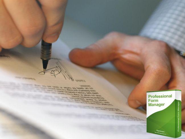 Professional Form Manager Dimostrazione Funzione Canvas